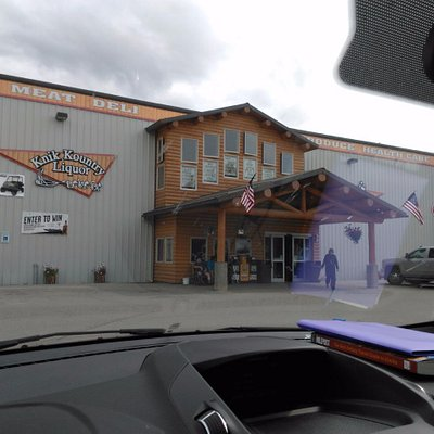 Cubbies IGA right before turn off to Talkeetna