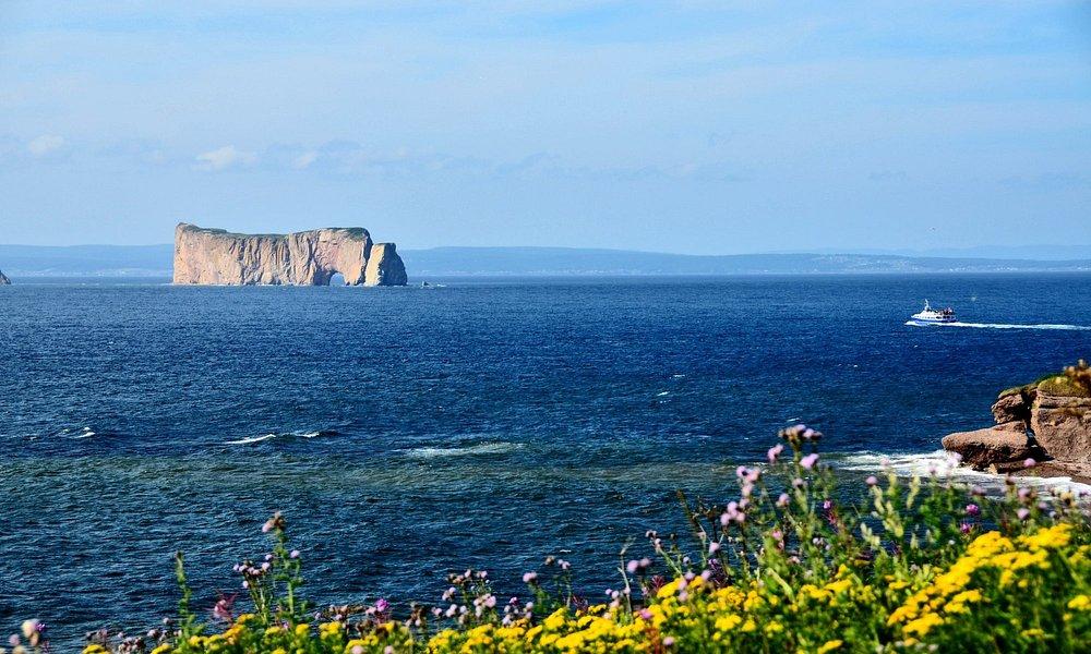 Vue du rocher Percé de l'île Bonaventure