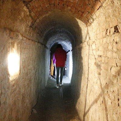 percorso sotterraneao