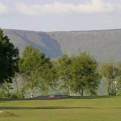 fantastic view of Kinder and golf course