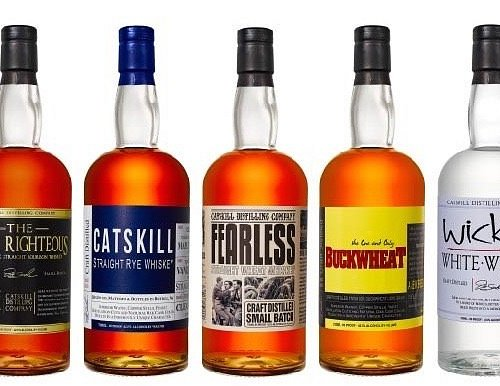 Our whiskeys!