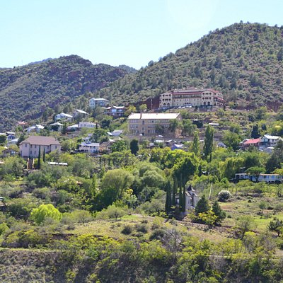 View of Jerome from parking lot