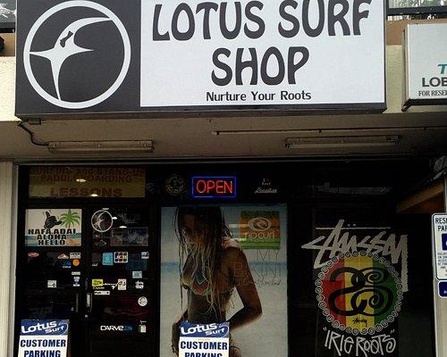 Lotus Surf Shop Store Front