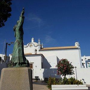 The beautiful Sant'Ana Church.