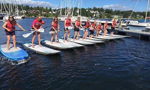 Stand Up Paddle (SUP) - Kurs for bedrifter, grupper og vennegjenger