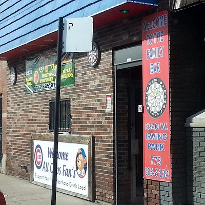 Entrance to Family Bar