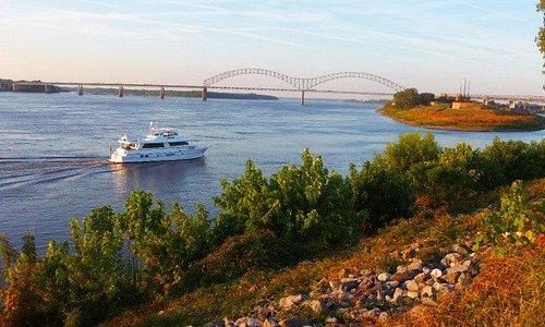 Mississippi River - Beginn der Beale Street