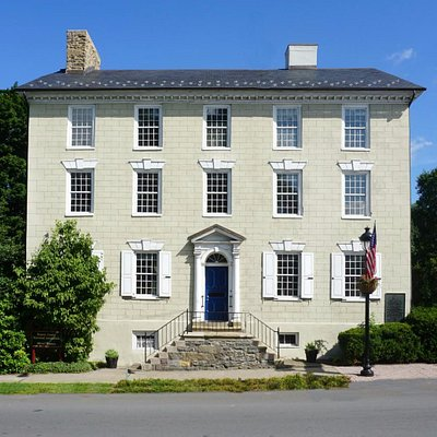 The historic 1795 Stroud Mansion