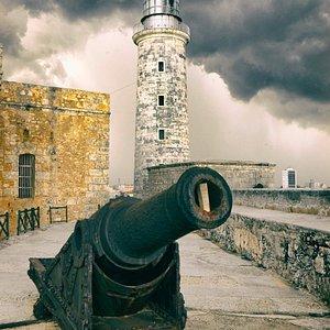 Fortaleza de San Carlos de la Cabaña (El Morro) fotografiada como parte de las salidas fotográfi