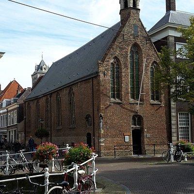 church seen from a distance