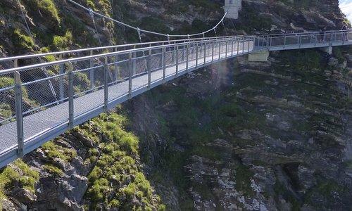 pont sur le vide