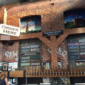 The Crooked Stave Brewery - inside The Source - RiNo District Denver.