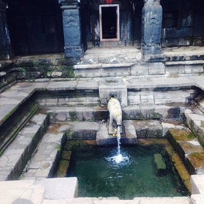 Krishnabai Temple entrance view
