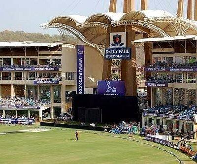 D.Y.Patil stadium situated in Nerul navi Mumbai.