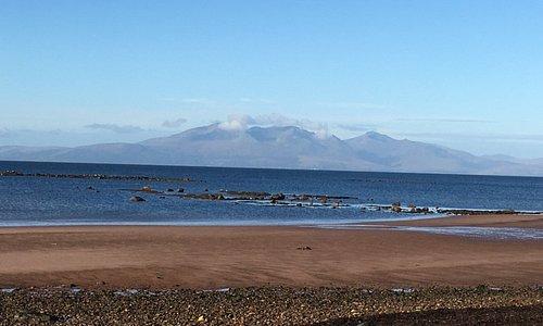 Seamill Beach View