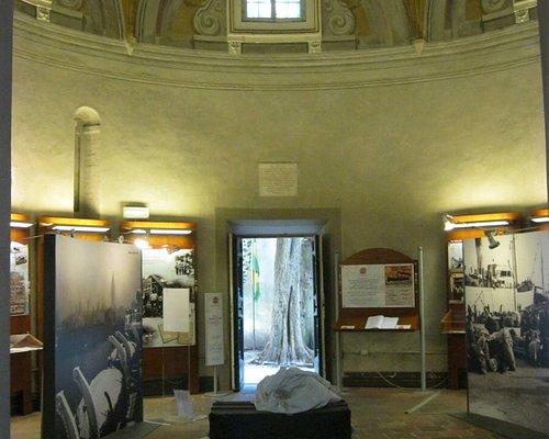 Salone d'ingresso del museo