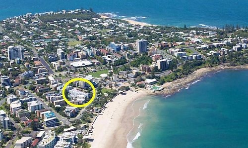 Casablanca Apartments located opposite popular Kings Beach.