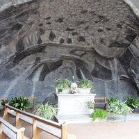 Wettolsheim – Réplique de la Grotte de Lourdes