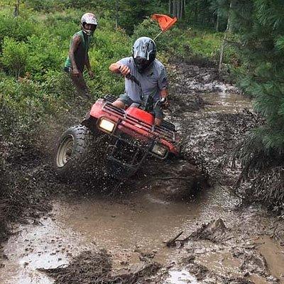 Muddy rides after a good rain.