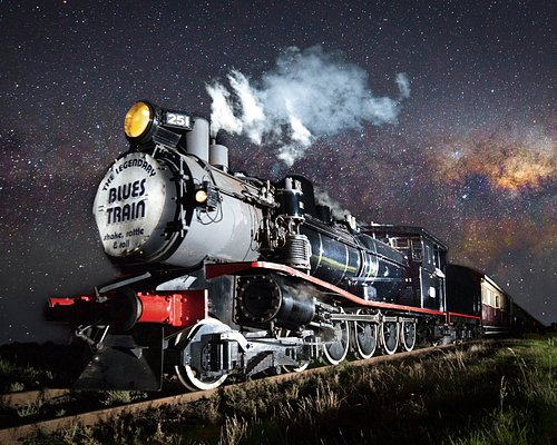 The mighty TClass 251 pulling The Blues Train: photo by Lachlan Manley