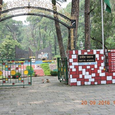 Entrance to War Memorial