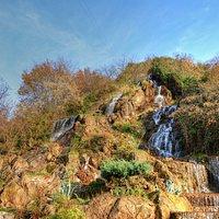 Lahijan Waterfall in Autumn