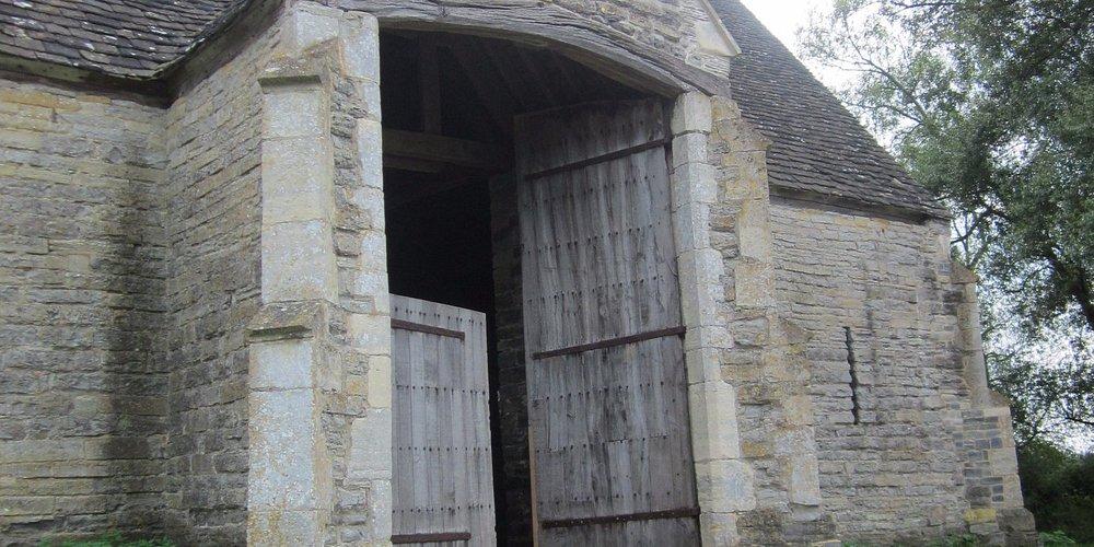Exterior of Tithe Barn