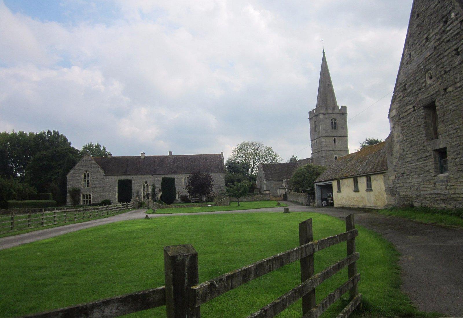 Adjacent church in Ashleworth