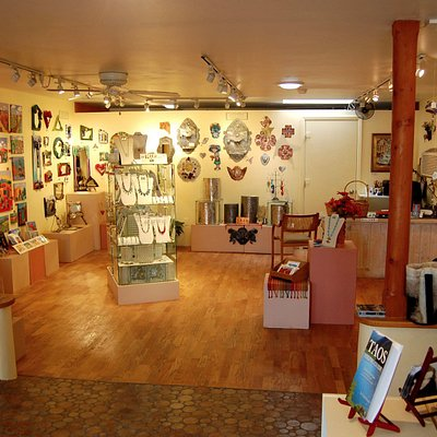 Punched tin works, pottery, felted goods and much more