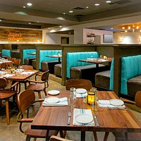 Edgar's Hermano, located on the 2nd floor of the Whitehall Hotel in Houston has a welcoming atmo