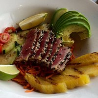 Seared Ahi Tuna Appetizer, Jack's Seafood, Eureka CA