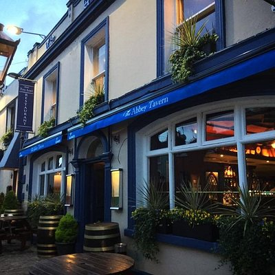Beautiful Abbey Tavern in Howth