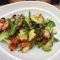 poulpe aux petits légumes