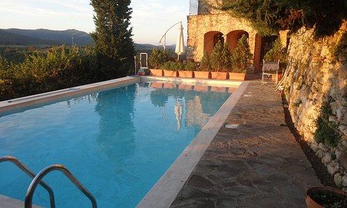 The pool at L'Anitca Vetreria
