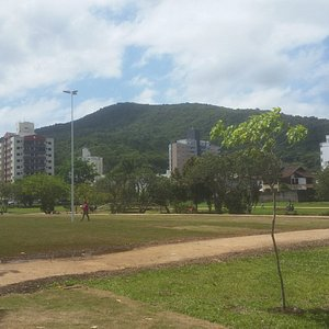 área caminhada