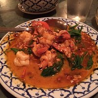 Shrimp curry dish - our favorite!