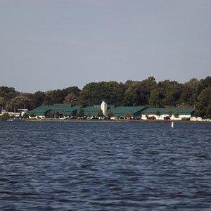 Springfield Lake (looking toward Springfield Township Police Department)