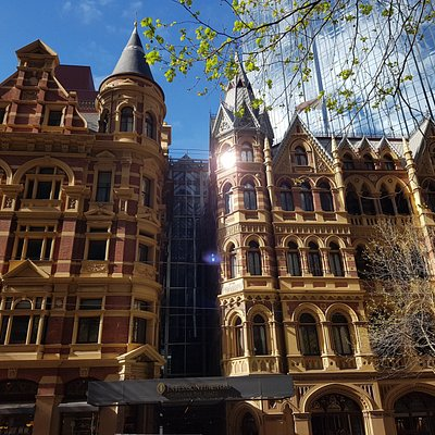 Preserved Victorian architecture