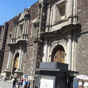 Iglesia de Santa Inés.