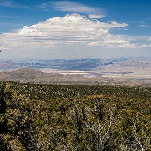 Neveda Test Site & Area 51 Over Horizon