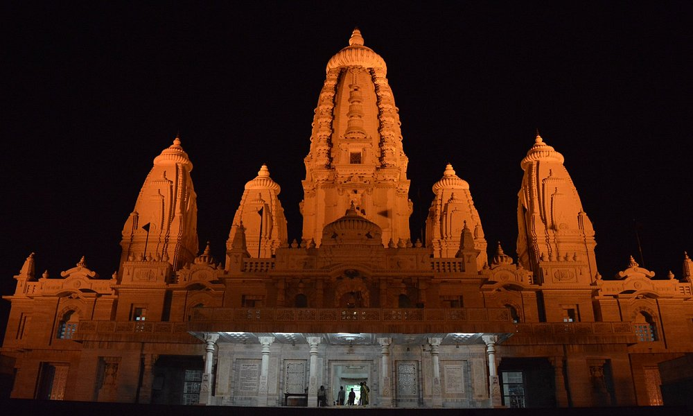 JK Temple in the night