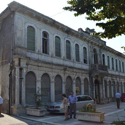Бывший дворец короля Черногории Николы I в Шкодере, Албания