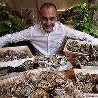 Il mondo di Fabrizio, appassionato collezionista delle migliori ostriche d'Europa.