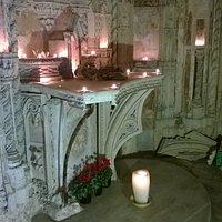 Il meraviglioso altare.