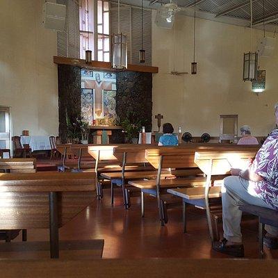 Interior of St. Catherine's