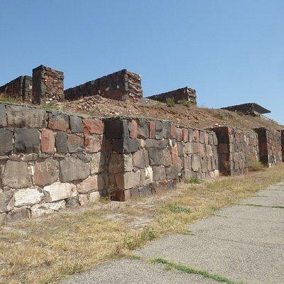 The walls at the citadel