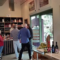 The other end of the cellar door tasting area.