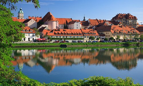 Lent - the oldest part of Maribor; the most beautiful views from the other riverbank