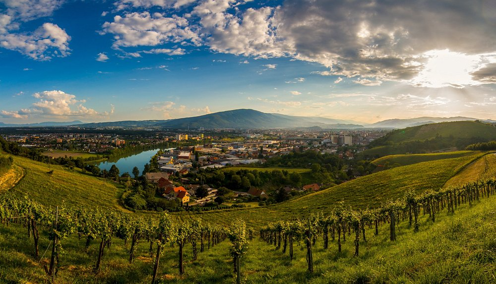 Maribor nestled in the beauty of nature