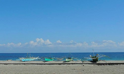 View from near the Bugtong Bato Plaza (Photo by my Cousin G. Sales)